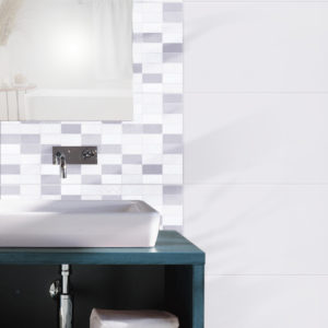 Blanc Weiss Glä. 30×60 cm