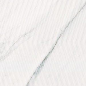 Carrara Chic Dekor Weiss Glä. 30×90 cm