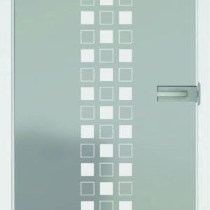 Artauf Glastüre – Modell Quatro