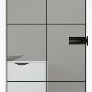 Artauf Glastüre – Modell 3D Industrie 5S