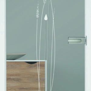Artauf Glastüre – Modell Elisa
