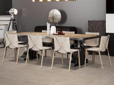 Luxury modern Dining room Interior design(3d render)