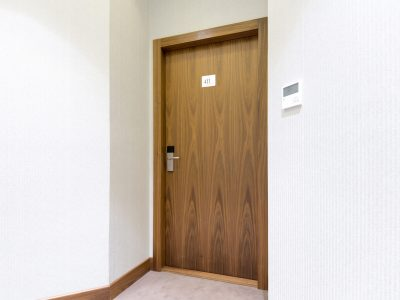 Hotel,Room,Door,With,Number